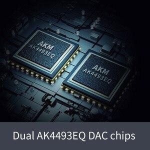 Image 5 - Fiio Q5s bluetooth 5.0 AK4493EQ dsd対応dac & アンプ、usb dacアンプiphone用/コンピュータ/android/ソニー2.5ミリメートル3.5ミリメートル4.4ミリメートル
