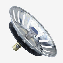 DRAIN-STOPPER-FILTER Strainer-Plug Sink-Cover Kitchen-Tool Stainless-Steel 1pcs Plug-Head