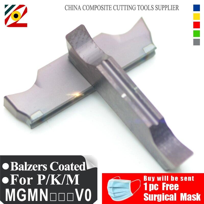 EDGEV 10PCS Cut Off Grooving Carbide Insert MGMN150 MGMN200 MGMN300 MGMN400 MGGN200 MGGN300 MGGN400 CNC Lathe Turning Tools