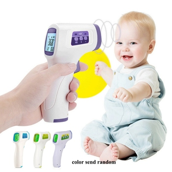 Non-Contact IR Infrared Thermometer Baby Foreahead Thermometer Body Laser Pyrometer Digital Temperature Meter Outdoor Tools