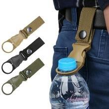 1 шт. наружная походная тактическая Лента Пряжка для бутылки воды портативная бутылка для воды подвесная Пряжка для минеральной воды