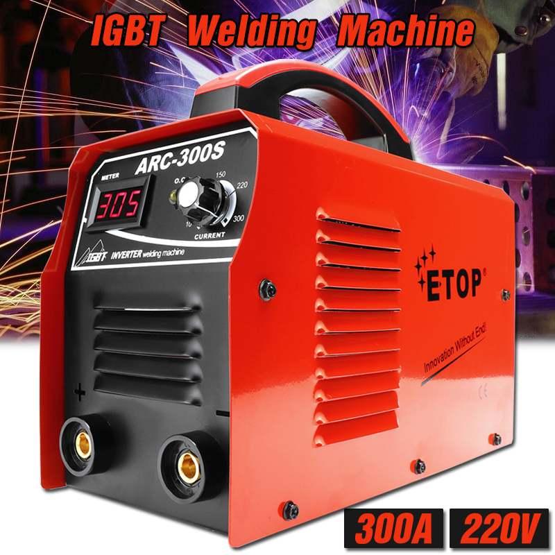 3.3KVA 300A DC Inverter ARC Welder 220V IGBT MMA Welding Machine for Home Beginner Lightweight Efficient Electric Welding Tools