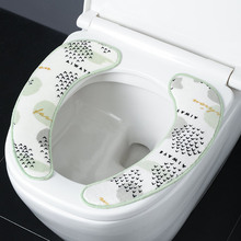 Toilet-Seat-Cover Cover-Accessories Universal Soft No for Household Flannel Non-Marking