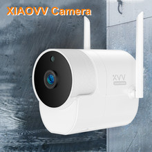 YouPin Xiaovv Outdoor Camera 360 IP 1080P Surveillance Cam Wireless WIFI High-definition Night vision With Mijia APP cheap ALANGDUO SONY IMX377 (1 2 3 12 MP) Ambarella A9 (4K 30FPS) About 5MP For Home Optical Image Stabilizer 180° MicroSD TF