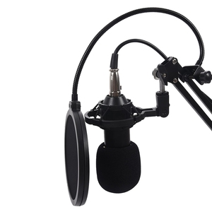 Image 2 - BM800 Condenser Microphone Kit Studio Suspension Boom Scissor Arm Sound Card