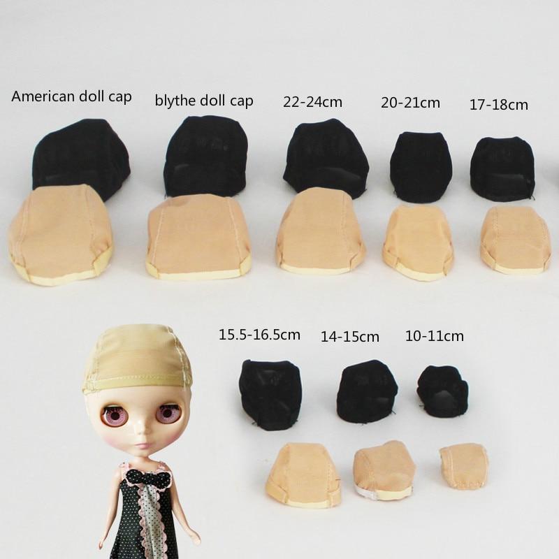 1x Doll DIY Accessories Fixed Hair Hairnet Net Non-slip Hat Cap Head Headgear for 1/3 1/4 1/6 BJD Doll Wig Toy bjd accessories