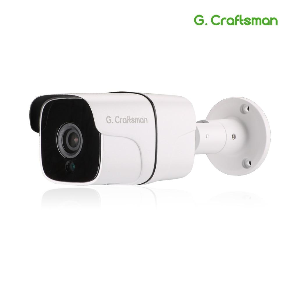 G.Craftsman Audio 5MP POE IP Camera Outdoor Waterproof Infrared Night Vision Onvif 2.6 5.0MP CCTV Video Surveillance Security