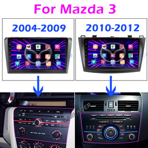Image 2 - For Mazda 3 2004 2013 maxx axela android 9.0 Car DVD GPS Radio Stereo 1G 16G WIFI Free MAP Quad Core 2 din Car Multimedia Player