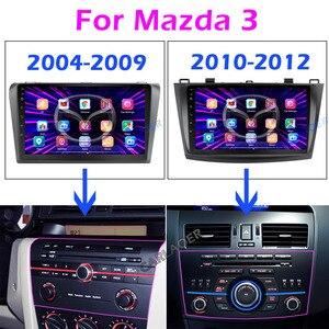 Image 2 - Pour Mazda 3 2004 2013 maxx axela android 9.0 voiture DVD GPS Radio stéréo 1G 16G WIFI carte gratuite Quad Core 2 din voiture lecteur multimédia