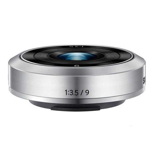 חדש NX M 9mm f/3.5 עדשה לסמסונג NX מיני, NX F1 NXF1 מצלמה