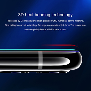 Image 3 - Nillkin 3D CP + מקס מזג זכוכית עבור Samsung Galaxy S20 אולטרה בתוספת מלא מסך דבק כיסוי מעוקל מגן oleophobic
