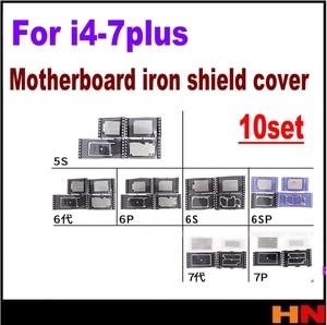 10 комплектов для iPhone 5 5G 4 4s 5s 6 6s plus новая материнская плата EMI shield web logic board net protect cover запасные части