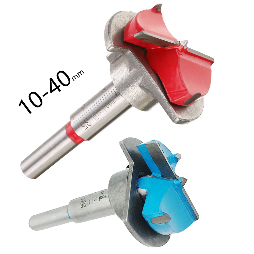 Hige Quality 35MM Carbide Tipped Hinge Cutter Wood Positioning Drill Bit Reamer With Guide