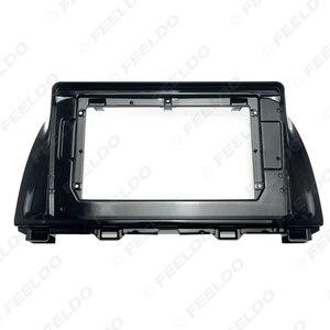 Image 5 - FEELDO 자동차 오디오 마즈다 CX 5 2Din DVD 플레이어 대시 오디오 피팅 패널 프레임 키트에 대 한 10.1 인치 큰 화면 근 막 프레임 어댑터