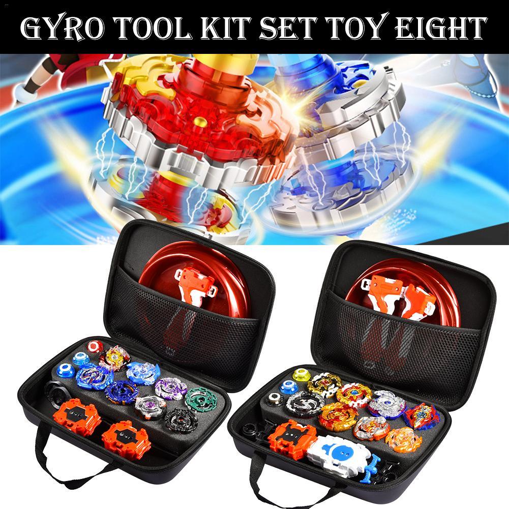 Gyro Kit Toy Battle Tops Case Toy Stadium Beyblades Burst Launcher Battle Set Gift For Children In Halloween Christmas