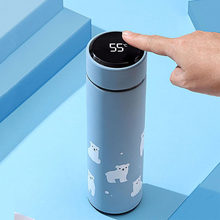 """450ML Temperatur Led-anzeige Thermos Glass Liner Material Bottle Type Thermal Insulation Performance Metal Type Shape Feature""(China)"