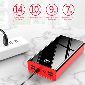 80000 мАч Power Bank большой емкости LCD Power Bank Внешняя батарея USB портативный мобильный телефон зарядное устройство для Iphone, Samsung, Xiaomi Внешние аккумуляторы      АлиЭкспресс