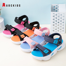 ABCkids Summer Sandals Girls Leather Shoes 2020 Fashion Toddler Boys Girl Beach Sandals Coloful Children Baby Shoes Kids Sandals free shipping 2020 children s sandals summer new boys sneakers girls sandals for girl