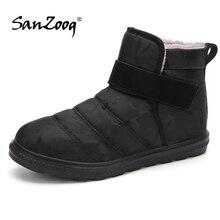Pluszowe kostki wodoodporne męskie zimowe buty buty śniegowce buty męskie Botines Botas nieprzepuszczalne Hombre Chaussure Homme Hiver rozmiar 48 49