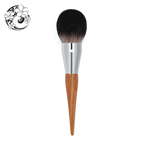 energia marca profissional escova de la fibra de cabelo escovas compoem a escova pincomo maquillaje