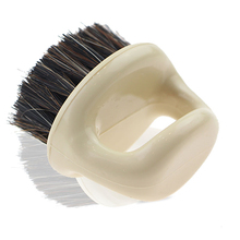 цена на Men 's Shaving Brush Horse Bristle Shaving Brush Plastic Portable Barber Beard Brushes Salon Face Facial Cleaning Brush
