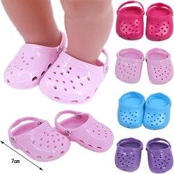 Кукольная обувь для новорожденных, 43 см, 18 дюймов, американская кукла, игрушка для девочек, 43 см, одежда для новорожденных, подарок на день ро...