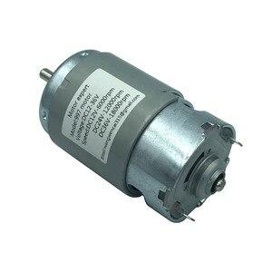 Image 2 - 997 Powerful DC Motor 12 36V High Speed Motor Silent Ball Bearing Motor