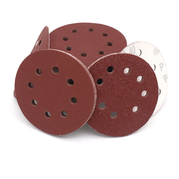 5 125mm 8 Holes Sanding Discs 40 60 80 100 120 150 180 240 320 400 600 800 1000 1200 1500 2000 Grit Hook & Loop Sandpaper image