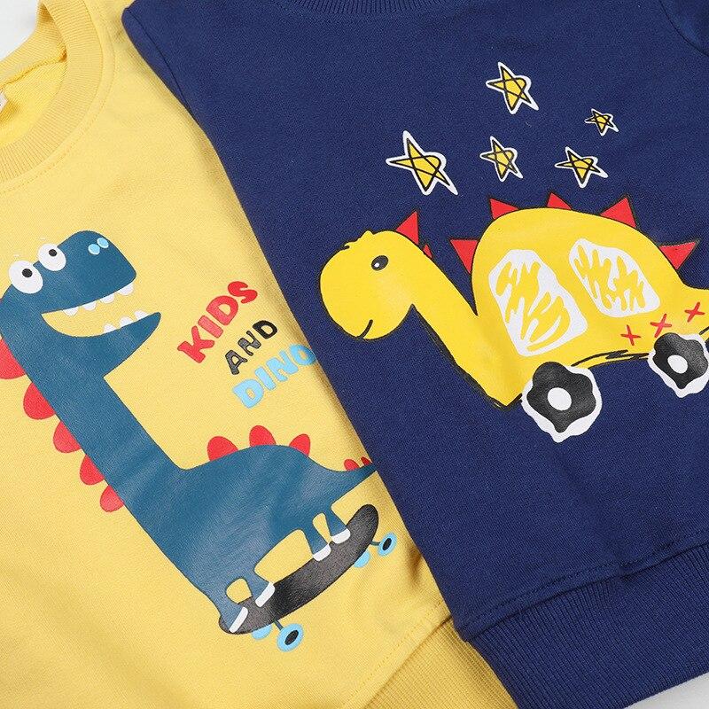 Купить 2021 комплект из двух предметов с рисунком «динозавр» для мальчиков