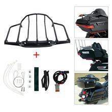 Мотоциклетный светодиодный светильник с воздушным крылом багажник