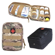 Outdoor Survival Tactical Medical First Aid Kit Molle Medical EMT Cover Emergency Military Package Hunting Utility Belt Bag nylon first aid bag tactical molle medical pouch emt emergency edc rip away survival ifak utility car first aid bag