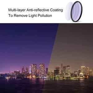 Image 3 - K&F Concept 52/58/67/72/77/82mm Clear Night Filter Multiple Layer Nano Coating Pollution Reduction for Night Sky/Star