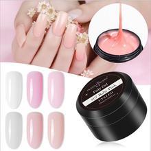цена на 15ml UV Gel Poly Gel Nails Polygels Nails Builder Poligel Nails Kit Extension Acrylic Nail Art Crystal UV Resin Builder