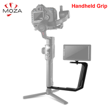 "Moza Air 2 Dual Handheld Grip with 1/4"" Screw Holes for Moza Air 2 Zhiyun Crane 2 3 3S M2 Weebill S & Other Handheld Gimbal"