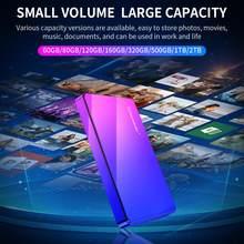 Zewnętrzny dysk twardy 2TB 1TB HD Externo USB HDD urządzenie pamięci masowej dysk twardy komputer przenośny d