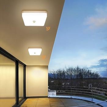 Led Plafond Verlichting Pir sensor Motion 36W plafond Lamp 5