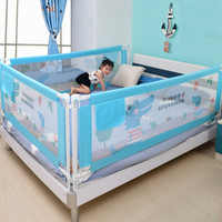 Baby Bed Fence Safety Gate Products child Barrier for beds Crib Rail Security Fencing for Children Guardrail Safe Kids playpen
