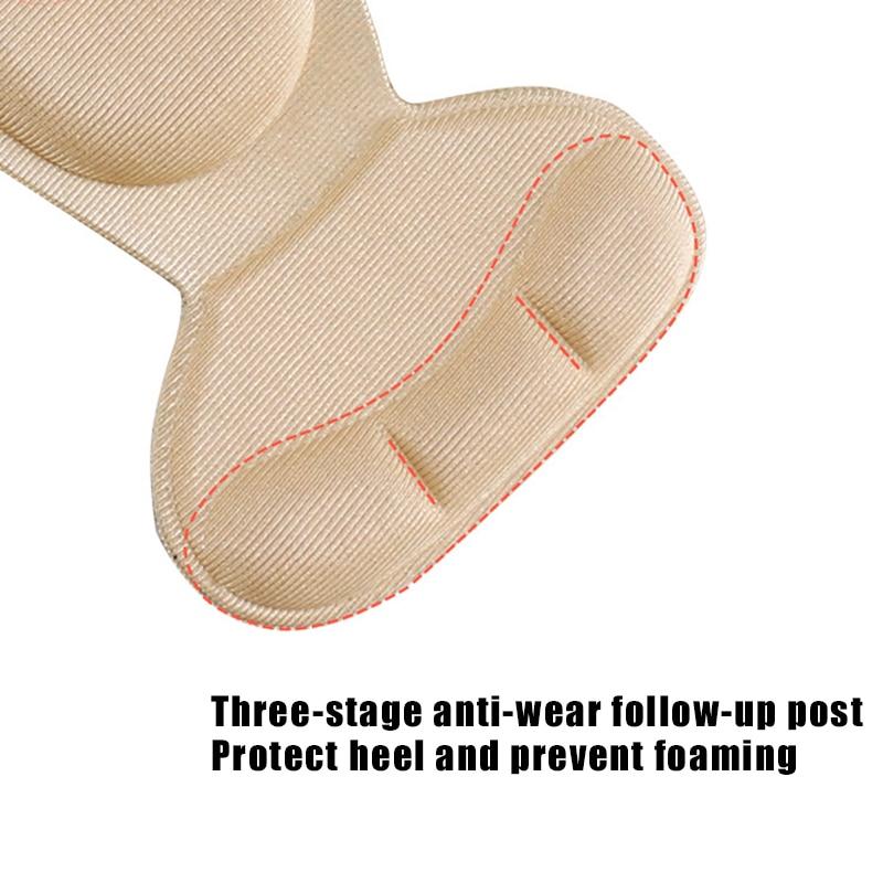 Recém calcanhar almofada inserções esponja sapatos almofadas