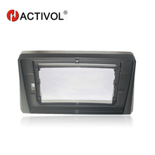 HACTIVOL 2 DIN Car Radio face plate Frame for KIA K5 Optima 2016 Car DVD GPS NAVI Player panel dash mount kit car products hactivol 2 din car radio face plate frame for kia sportage r 2016 kx5 car dvd gps navi player panel dash mount kit car products