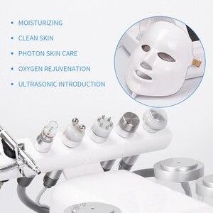Image 5 - 7 In 1 Hydra Dermabrasion Peel Clean Skin Care BIO Light RF Vacuum Face Skin Cleaning Hydro Water Oxygen Jet Peel Machine
