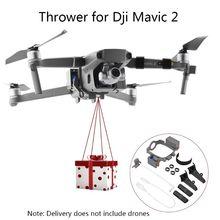 1 セットプロのウェディング提案送達デバイスディスペンサー放射器 dji Mavic 2 プロ/ズームドローン空気輸送ドロップギフト