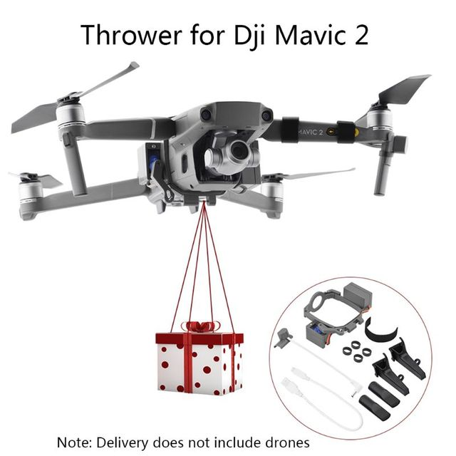 1Set Professional Wedding Proposal Delivery Device Dispenser Thrower for DJI Mavic 2 Pro/Zoom Drone Air Dropping Transport Gift