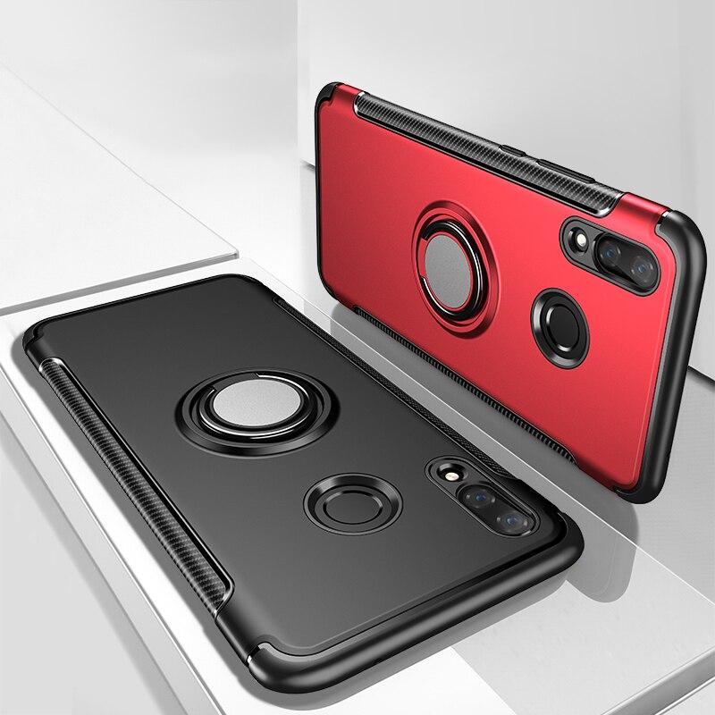 Case For Huawei Honor 8 8X Max 8S Note 10 Mate 20 10 9 V9 Lite Play Pro X Case G10 Car Magnet Honor V10 V8 6C Pro Nova 2i Cover