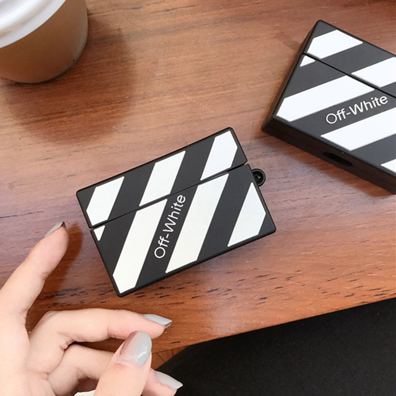 Off White Silicone Case for Airpods Pro 15