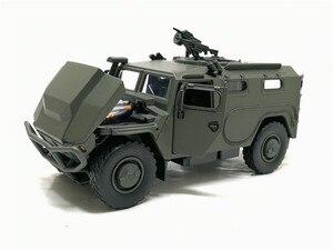 Image 3 - จำลอง1:32ล้อแม็กเลื่อนรัสเซียรถหุ้มเกราะป้องกันการระเบิดทหารรุ่นSound Lightรถเด็กของเล่น