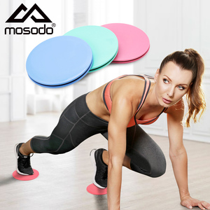 2pcs Sliding Gliding Fitness Discs Abdominal Exercise Sliding Plate Pilates Yoga Gym Abdominal Core Training Exercise Equipment