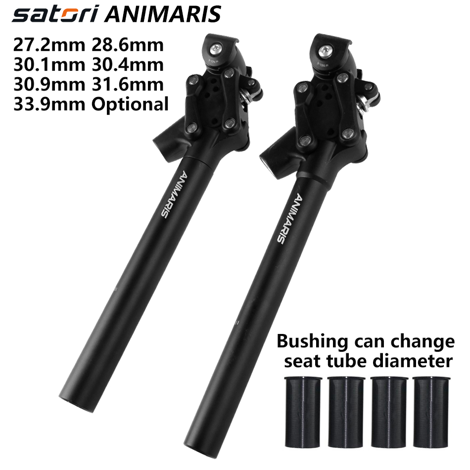 Details about  /Bicycle Suspension Seatpost 350mm Fit Bike SATORI Animaris Model