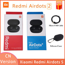 Versione cinese Xiaomi Redmi AirDots 2 Wireless Bluetooth 5.0 redmi airdots2 auricolari bassi stereo In-Ear non redmi airdots s