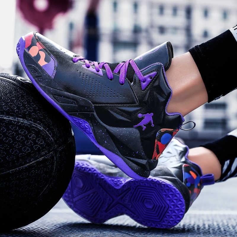 2020 marke Männer Jordan Basketball Schuhe Straße Stil Basketball Kampf Stiefel Turnschuhe Männer Anti-kufen Sport Schuhe Zapatos Hombre