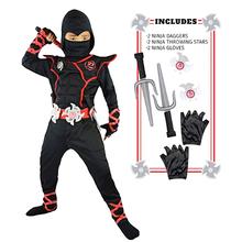 Ninja traje crianças ninjago-traje menino menina festa de halloween fantasia vestido super-herói ninja cosplay terno crianças conjunto de roupas presente